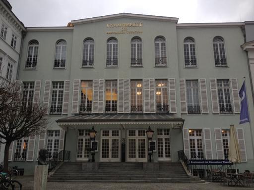 Kammerspiele und Box des Deutschen Theaters Berlin (Foto: Sascha Krieger)